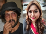 Rakshita Prem Is Upset With Sudeep For Not Taking Her To Meet Salman Khan He Made Her Cry