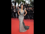 Cannes 2019: Mallika Sherawat Impresses In A Shimmery Silver Gown On The Red Carpet
