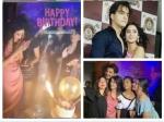 Shivangi Joshi Birthday Bf Mohsin Khan Surbhi Chandna Others Attend Shivangi Mohsin Cute Pics