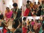Sihi Kahi Chandru Daughter Hitha Chadrashekar Engaged To Beau Kiran Picture Inside