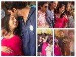 Iss Pyaar Ko Kya Naam Doon Stars Reunite Barun Sobti Wife Pashmeen Manchanda Baby Shower New Pics
