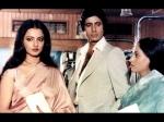 Rekha Thinks Jaya Bachchan Is Insecure Wife Amitabh Bachchan Hasnt Given Jaya Security