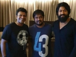 Yash Puneeth Rajkumar Snapped In Mysore Where They Are Shooting Together For Kgf Chapter 2 Yuvaratna