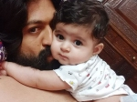 Radhika Pandit Calls Yash Their Baby Daughter Superhero Shares An Adorable Picture On Father Day