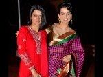 Kangana Ranaut Sister On Mental Hai Kya Rumours Nepotism Gang Wants To Harm Kangana Career