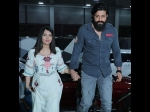 VIEW PICS: Radhika Pandit Flaunts Her Baby Bump In Style! Yash Lends Pregnant Wife A Helping Hand