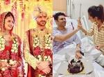 Divyanka Tripathi Vivek Dahiya Celebrate Their Wedding Anniversary Divek Unseen Wedding Pics