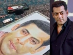 Salman Khan Shares A Video Of A Specially-abled Fan Sketching His Portrait With Her Feet!