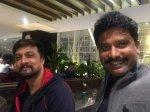 Sudeep Calls The Villain Director Prem His Younger Brother Shares An Emotional Tweet