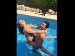 Mom-to-be Amy Jackson Chills Like A Boss With Boyfriend George Panayiotou In A Pool!