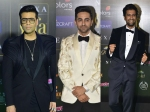 IIFA 2019 Green Carpet: KJo, Ayushmann Khurrana & Vicky Kaushal Look Savvy In Black