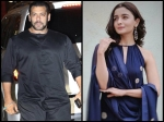 WHAAT? Salman Khan's LIP-LOCK Scenes With Alia Bhatt Lead To Indifference Between Him & Mr Bhansali?
