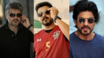 Ajith Vs Vijay Fan War Takes A New Turn; Brings Shah Rukh Khan Into The Picture!