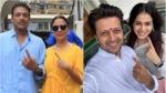 Aamir Khan, Hrithik Roshan, Deepika Padukone & Others Vote In Maharashtra Elections