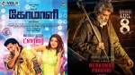 Diwali 2019 Special Tamil Movies On TV Channels: Nerkonda Paarvai, Comali, A1 And Other Films!