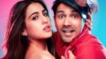 Sara Ali Khan Opens Up On Working With Varun Dhawan In Coolie No 1: 'He's Crazy'