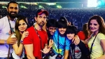 Hrithik Roshan Attends U2's Mumbai Concert Along With Sussanne Khan And Kids