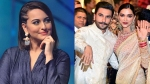 Sonakshi Sinha Names 'Ranveer-Deepika' Her Most Favourite Celebrity Couple