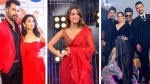Zee Rishtey Awards 2019: Sriti & Shabbir Twin In Red; Anita Hassanandani Looks Gorgeous In Red Sari