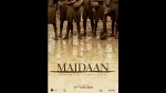 Maidaan Teaser Poster: Ajay Devgn Teases Us With A Glimpse Of His Upcoming Sports Film