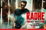 Radhe Release Date: Salman Khan Locks The Date For Eid 2020