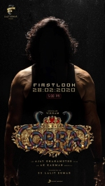 Cobra: Makers to unveil First Look of Chiyaan Vikram-Starrer On This Date!