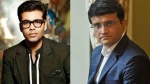 Karan Johar In Talks With Sourav Ganguly For A Biopic On The Latter?