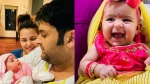 Kapil Sharma Shares Adorable Pictures Of Daughter Anayra From Her Kanya Puja Ceremony