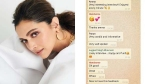 Deepika Padukone Shares What Goes On In Their Family WhatsApp Group