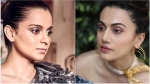 Kangana Ranaut's Team Picks On Taapsee Pannu; Says She Gets Awards For Attacking Kangana