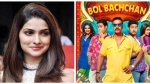 Ajay Devgn Corrected By Prachi Desai For Failing To Mention Other Actors In Bol Bachchan Post