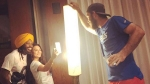 Preity Zinta And Chris Gayle Click Selfie As Glenn Maxwell Plays Light-Boy; Photo Goes Viral