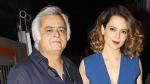 Hansal Mehta Says Kangana Ranaut Took Charge Of Simran's Set And Began Directing Others