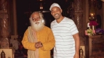 Sadhguru Meets 'Follower' Will Smith & Family While Biking Across The United States