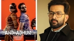 Prithviraj Sukumaran To Play The Lead Role In Andhadhun Malayalam Remake?