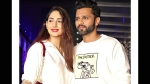 Bigg Boss 14 Runner-Up Rahul Vaidya And His Ladylove Disha Parmar Step Out For A Dinner Date