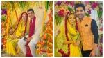 Sana Sayyad Begins Wedding Festivities With Haldi Ceremony; Bestie Adhvik Mahajan Shares Adorable Pics