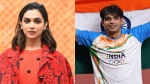 Deepika Padukone & Neeraj Chopra Spotted Wearing Same Jordan Sneakers Worth Rs 75000