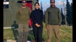 Sara Ali Khan Shares A Picture With Indian Army Officers In Jammu And Kashmir