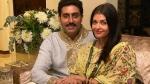 Here Is How Abhishek Bachchan Surprised Aishwarya Rai Bachchan On Karwa Chauth
