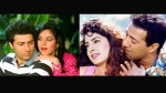 Sunny Deol's Best On-Screen Pairings: From Meenaakshi Sheshadri To Juhi Chawla