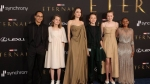 Angelina Jolie's Daughter Zahara Stuns In Mom's Vintage Oscar Dress At Eternals LA Premiere
