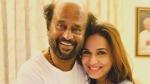 Rajinikanth Launches Daughter Soundarya Vishagan's Voice Based App