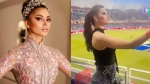 Urvashi Rautela Sets Several Tongues Wagging Again After Being Spotted Cheering For Rishabh Pant