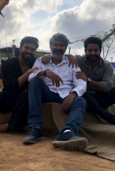 RRR Movie First Day Shoot Pics