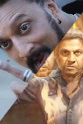 Shivanna - Kiccha Sudeep's The Villain Teaser Pics