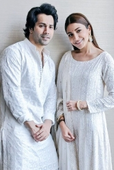 Varun & Anushka On A Promotional Spree For Sui Dhaaga