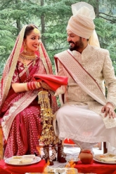 Yami Gautam And  Aditya Dhar Enter Wedlock