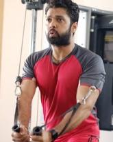 Rakshit Shetty's Latest Workout Pics