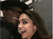 EPIC PIC! Samuel L. Jackson's Adorable Selfie With Deepika Padukone